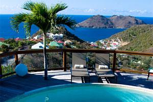 St Barts Villa Oceans 5 Rental