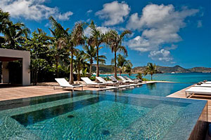 St. Barts Villa Palm Beach Rental