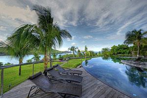 St. Barts Villa Silver Rainbow Rental